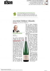 Stadtblatt Innsbruck Juli 2016